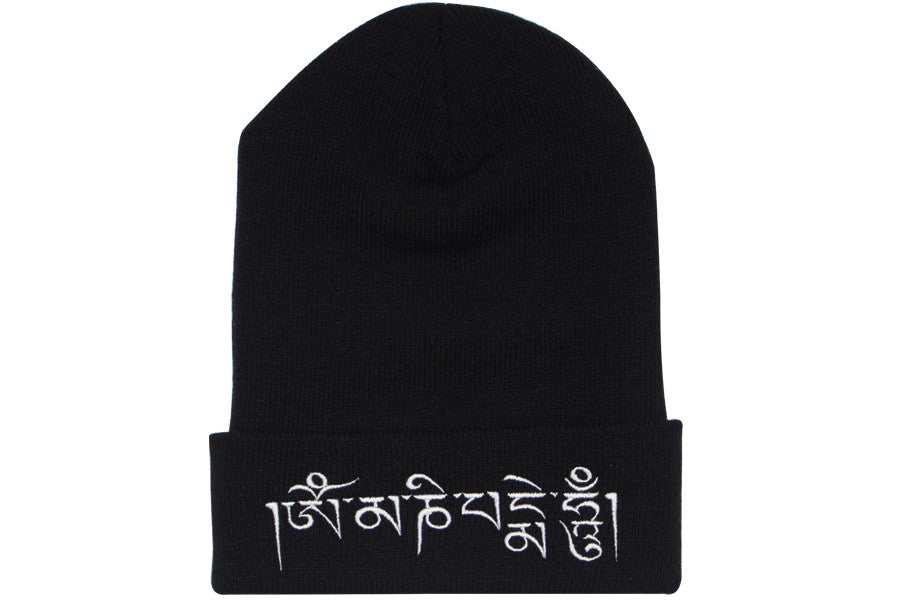 Frenemy Clothing Om Mani Mantra Beanie
