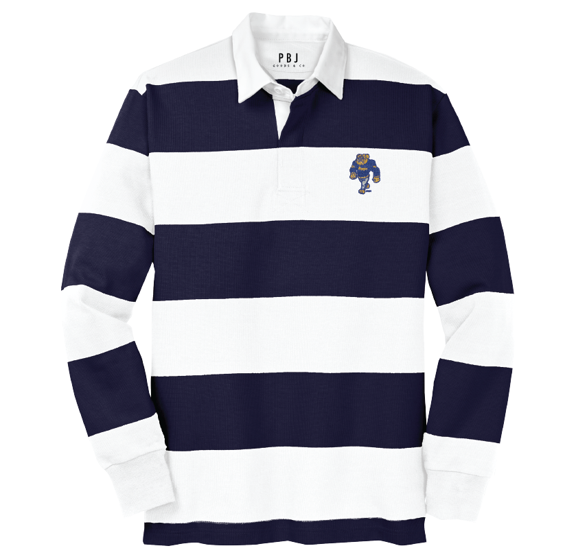 BIG DOG RUGBY - Classic Long Sleeve Rugby Polo