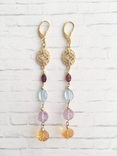 BohoRock Natural Stone Earrings