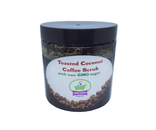 Toasted Coconut Coffee Scrub