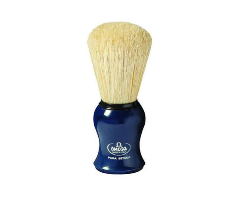 Blue Shaving Brush