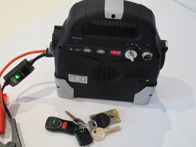 Mini 95000 mAh Car Jump and Lap Top Charger - Inverter