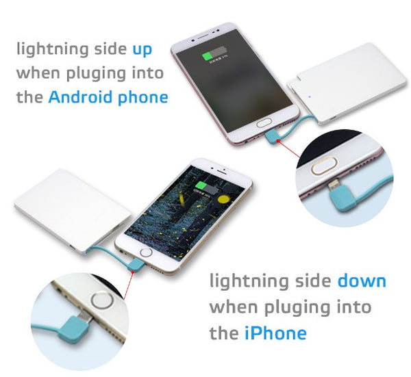 Universal All Day Charger  - 2500 mAh