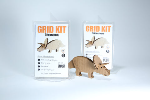 Triceratops Kit - Mini
