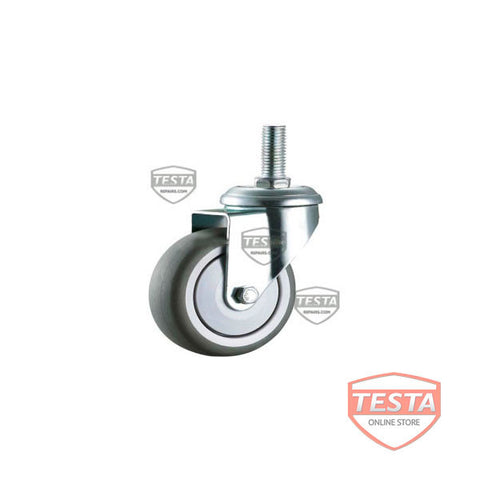 Caster, Swivel, 50mm D, M10 X 30 Stem,Zn