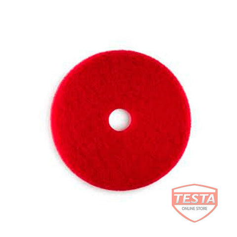 Red 17'' Scrubbing Pads CS of 5