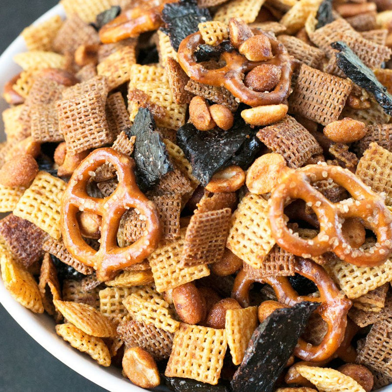 Quick & Easy Beef Jerky Chex Mix