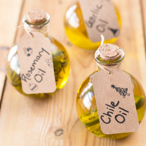 Gift This! Infused Olive Oils - Garlic, Rosemary & Chili Oils