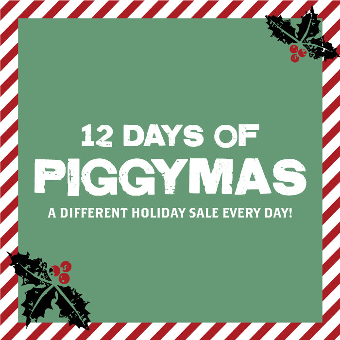 The 12 Days of Piggymas is BACK!