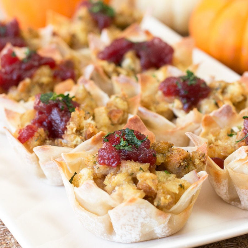 Thanksgiving Leftovers Cups