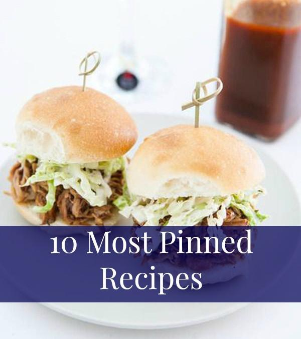 10 Most Pinned Recipes: March