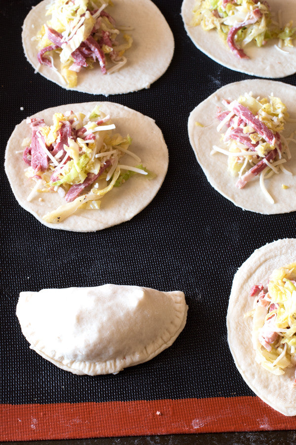 Corned Beef and Cabbage Empanadas