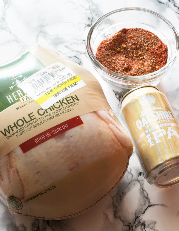 Craft Beer Can Chicken