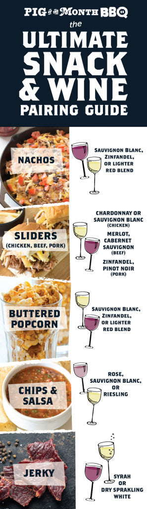 The Ultimate Snack & Wine Pairing Guide | Sauce + Style