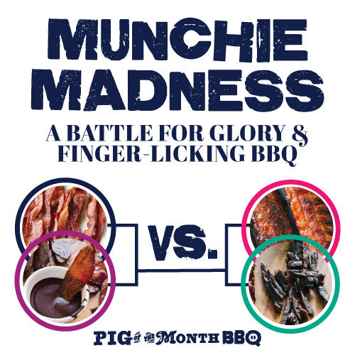 March Munchie Madness is BACK! 2016 Bracket Contest Kickoff - ENTER NOW! | Sauce + Style