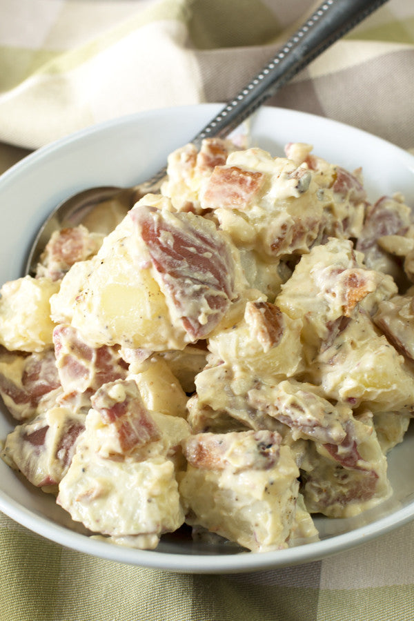 Garden Herb Bacon Potato Salad