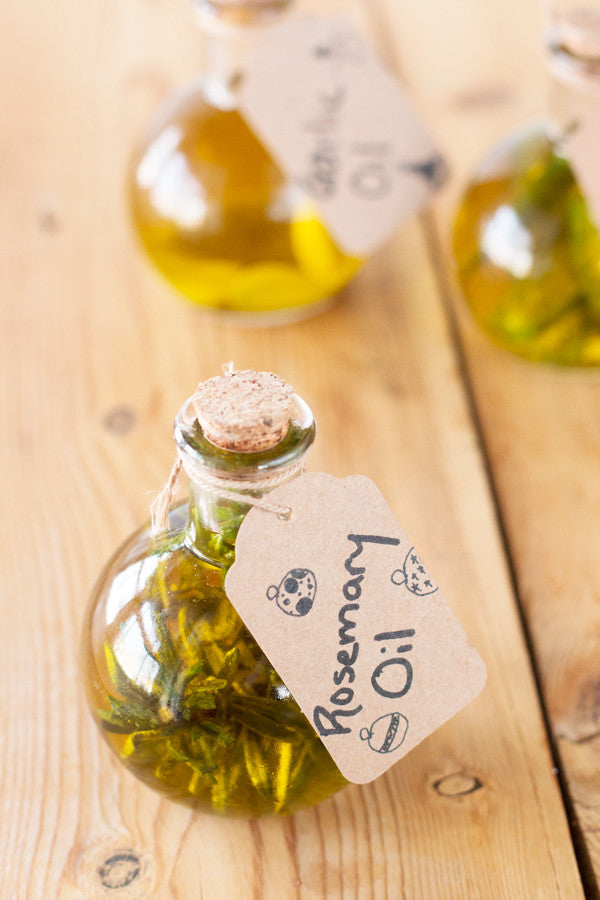 Infused Olive Oils - Garlic, Rosemary & Chili Oils | Sauce + Style