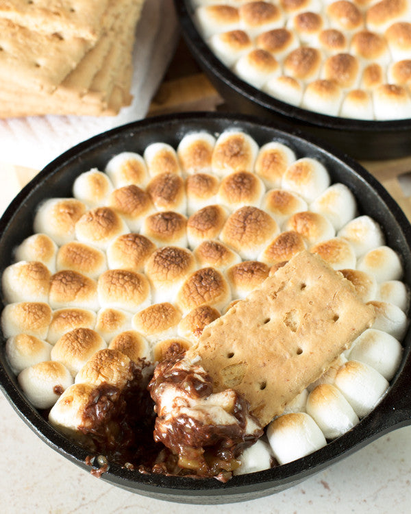 Trio of Fruit Mini Skillet S'mores