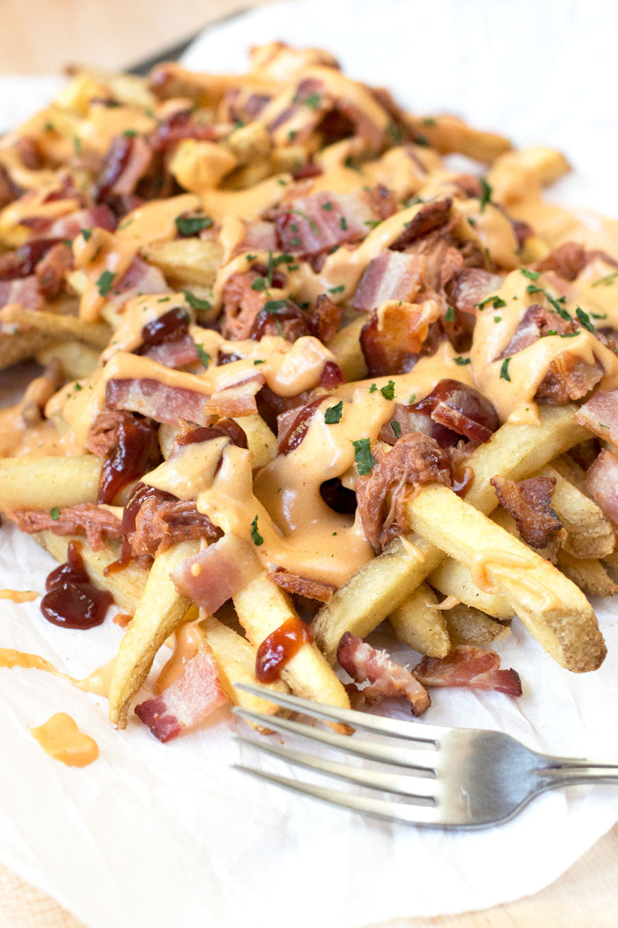 Pig Overload Fries | Sauce + Style