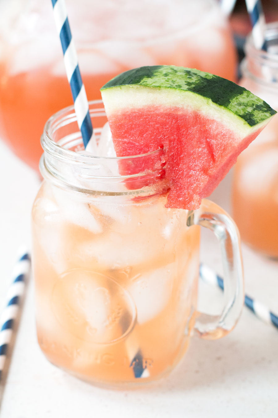 Sparkling Watermelon Punch | Sauce + Style