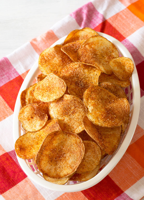Spicy Homemade Potato Chips