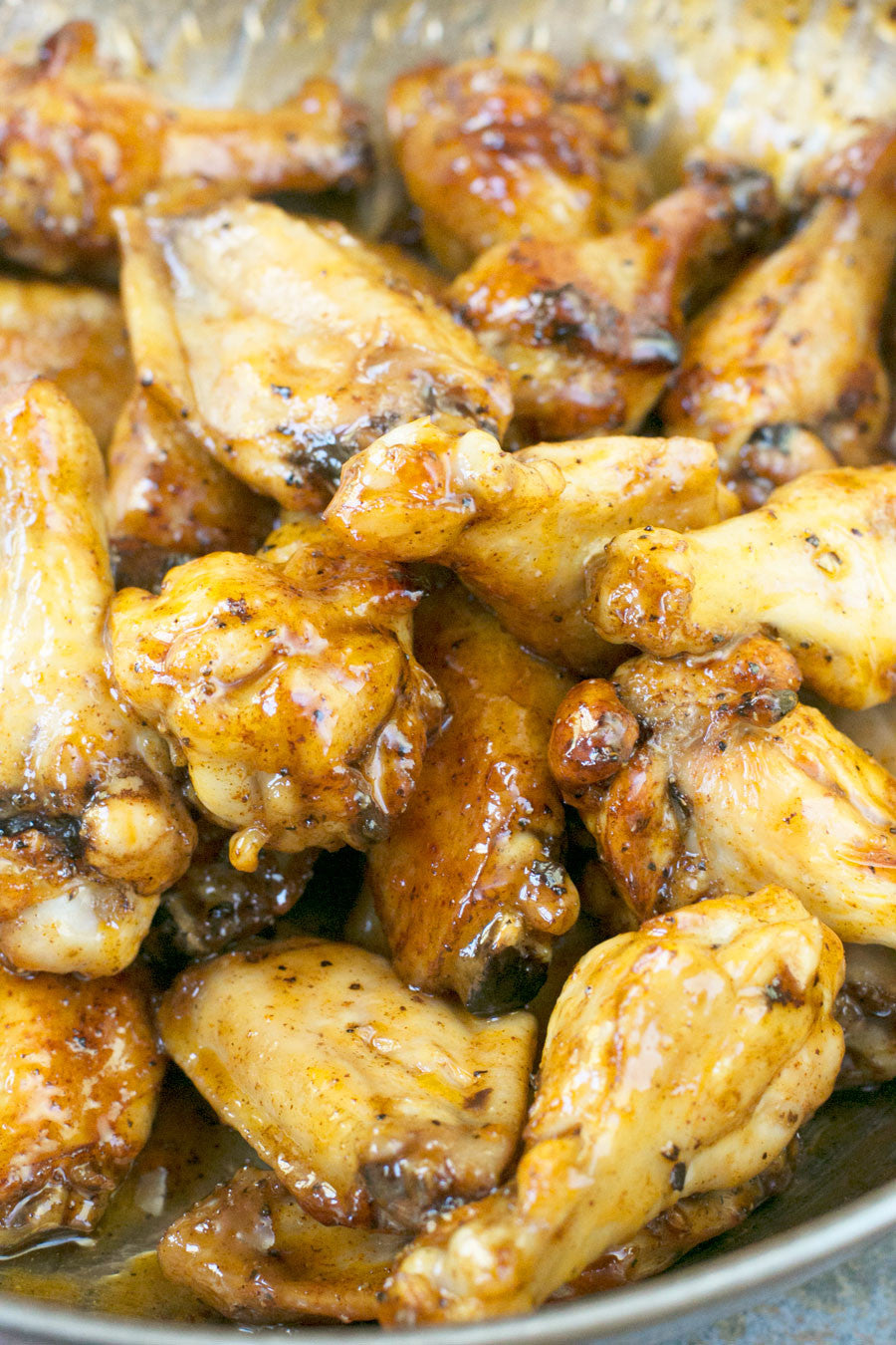 Sticky Honey Buffalo Chicken Wings | Sauce + Style