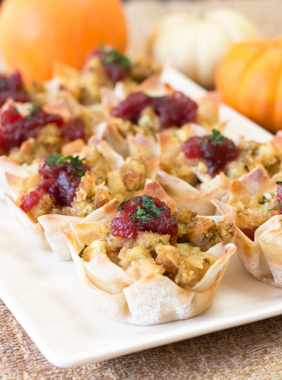Thanksgiving Leftovers Cups | Sauce + Style