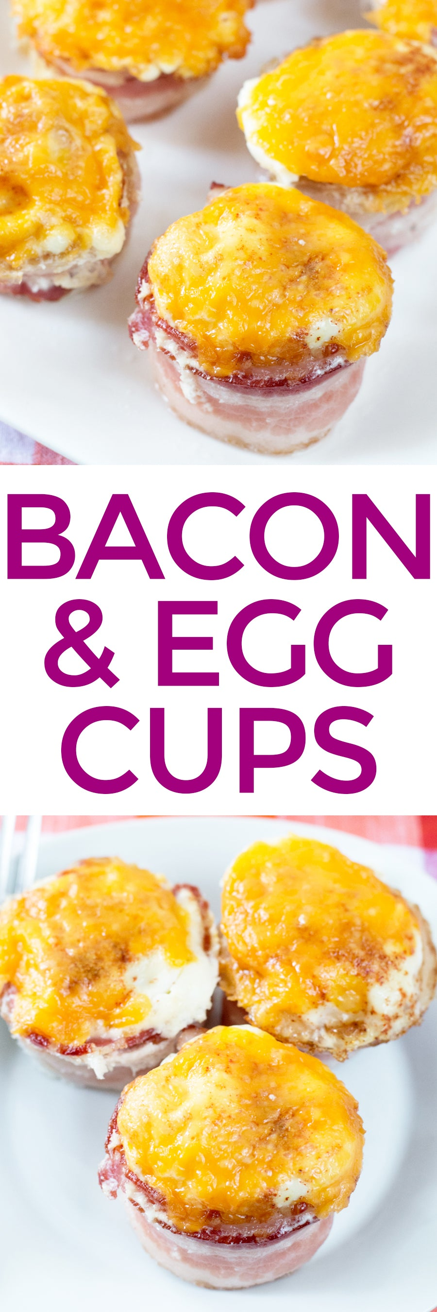 The Perfect BAE Cups (Bacon & Egg) | pigofthemonth.com #bacon #breakfast #brunch