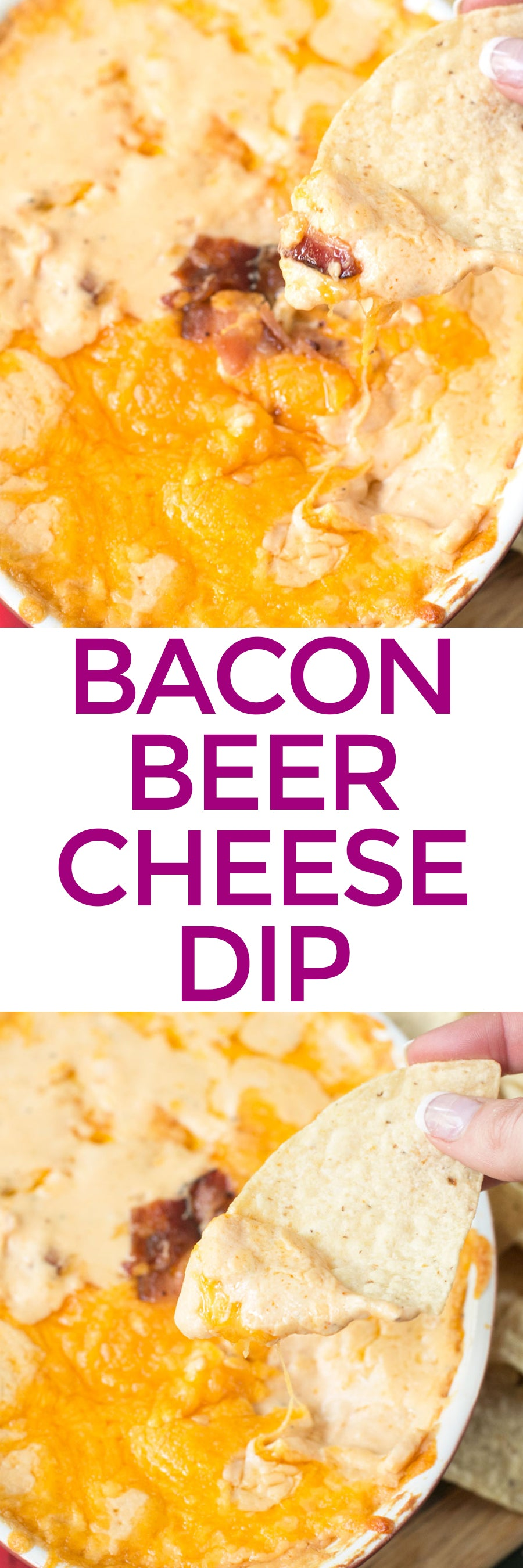 Bacon Beer Cheese Dip | pigofthemonth.com #tailgating #bacon #beer