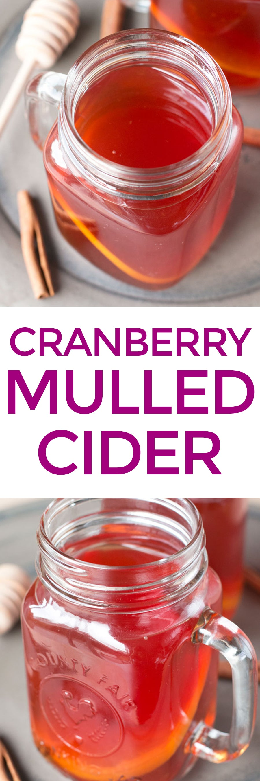 Cranberry Mulled Cider | pigofthemonth.com #mulledcider #holiday #christmas