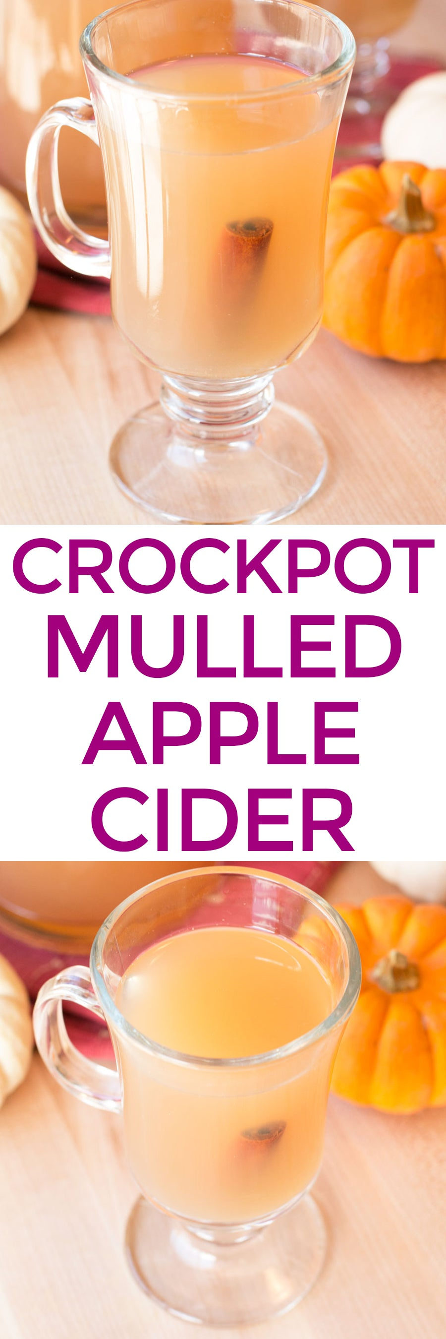 Boozy Crockpot Apple Cider | pigofthemonth.com #cocktail #fall #applecider