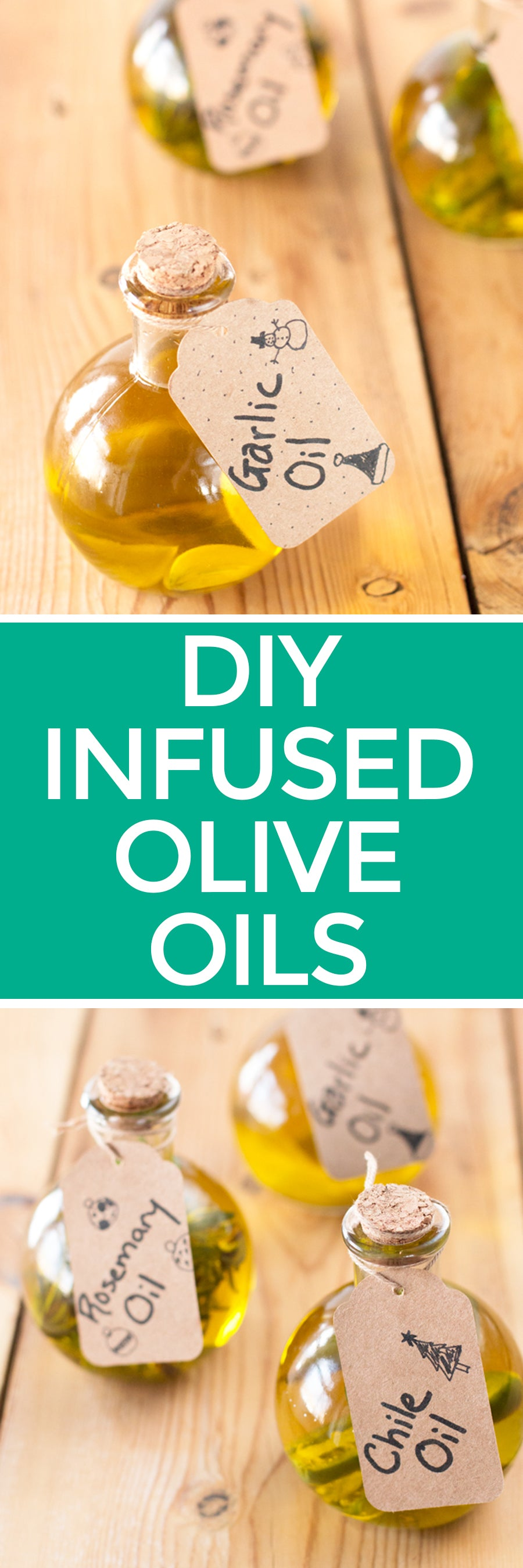 DIY Infused Olive Oils | pigofthemonth.com