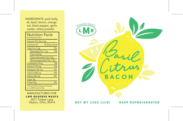 Basil Citrus Bacon