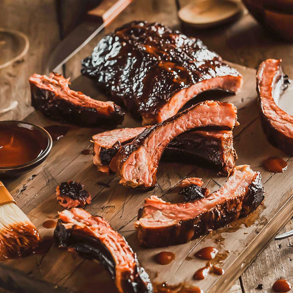 *Limited Edition* Bourbon Barrel Smoked Ribs