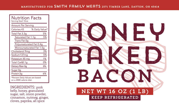 Honey baked bacon gluten free