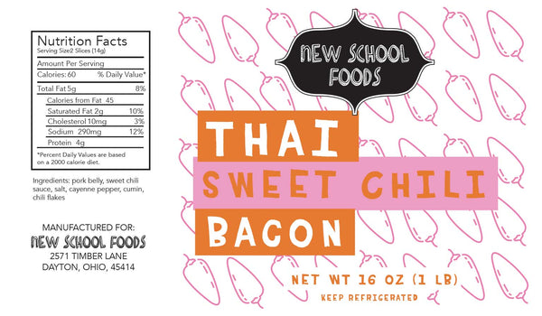 Thai sweet chili bacon gluten free