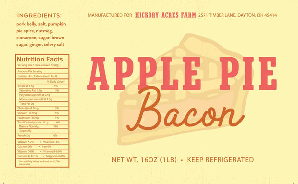 Apple pie bacon gluten free