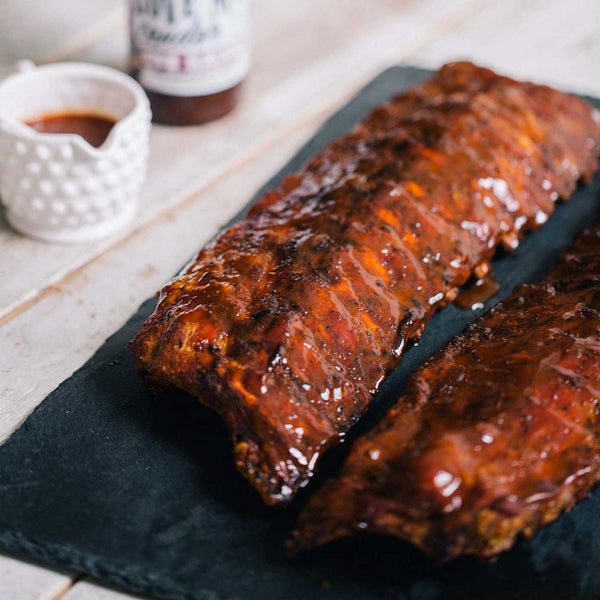 Award Winning Baby Back Ribs: Feeds 4