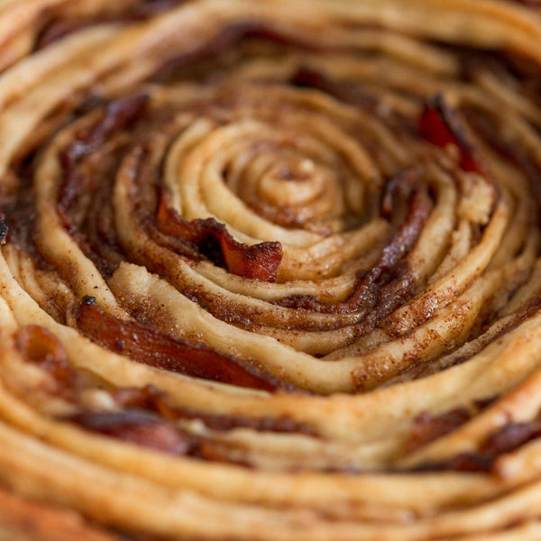 Giant Bacon Cinnamon Roll