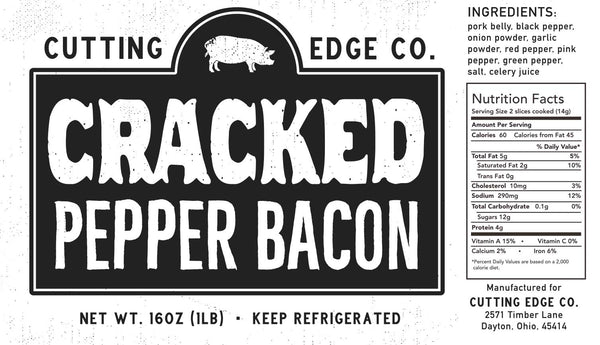 Cracked pepper bacon gluten free