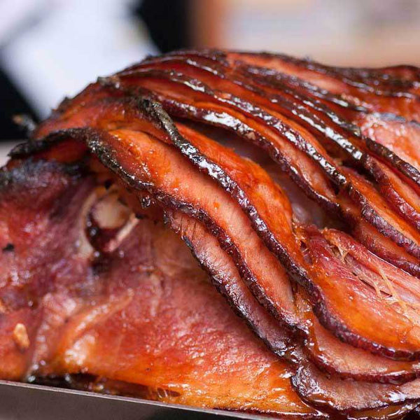 Gluten Free Maple Glazed Spiral Sliced Ham