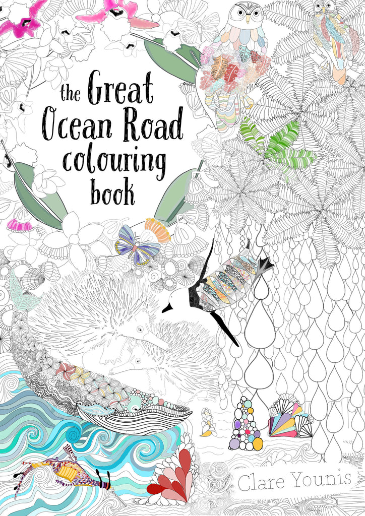 The Great Ocean Road Colouring Book