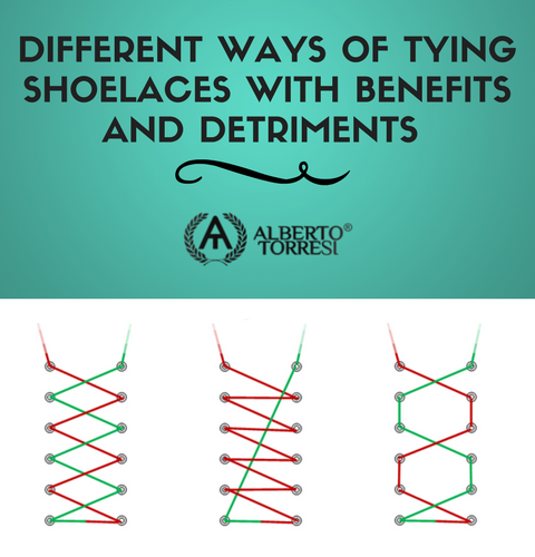 DIFFERENT WAYS OF TYING SHOELACES WITH
