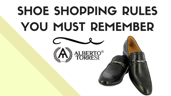 Shoe Shopping Rules You Must Remember