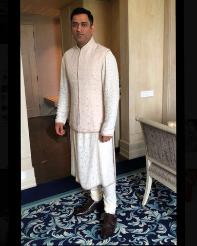 "Bespoke Luxury Shoe Brand on Instagram_ ""Mahendra Singh Dhoni spotted in our classic collection's Blake DK Brown Formal #AlbertoTorresiShoes recently at a function. Indulge in the"