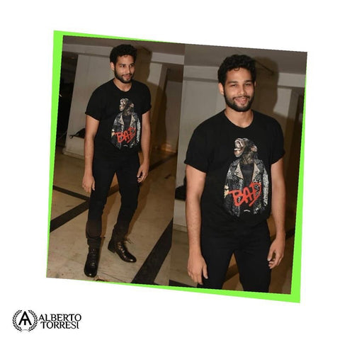 "Bespoke Luxury Shoe Brand on Instagram_ ""Siddhant Chaturvedi aka MC Sher is surely wooing us down with his casual yet sassy look in our dapper Marcus Black Ankle Boots. Boys, take"
