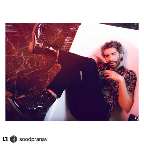 "Bespoke Luxury Shoe Brand on Instagram_ ""This just in _ Spotted JIM SARBH @jimsarbhforreal looking dapper in @albertotorresi Boots. #Repost @soodpranav with"