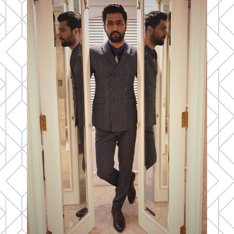Vicky Kaushal in Alberto Torresi oxford shoes