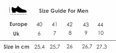 size-guide-for-men