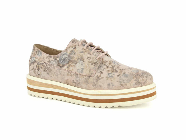 Alberto Torresi Rose Gold Women Sneakers